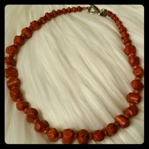 Retired Silpada Coral Necklace